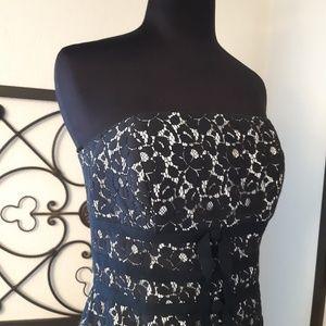 White House Black Market Lace Dress. Size 4